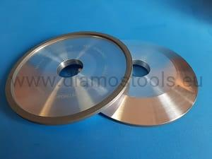 Diamond Grinding Wheel 4A2 150x6x4xH DIA107C75NB22X