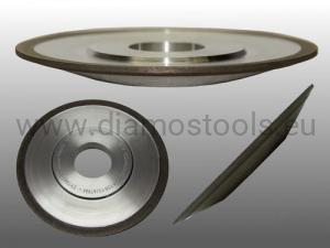 Diamond grinding wheel  4BT9 100x10x2xH DIA91 C85 N B225